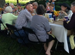 Consumers and Farmers Share Dinner and Conversations About Food