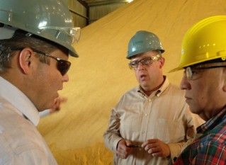 Latin American Grain Buyers Visit Kansas Farms; Ethanol, Shipping Facilities