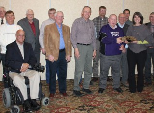 White Honored for Years of Service to Agriculture
