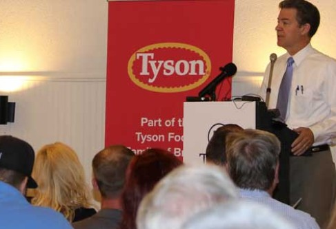 Kansas Corn Applauds Tyson Announcement of Poultry Complex in Eastern Kansas