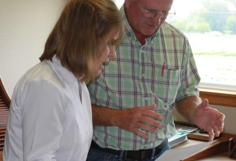 Congresswoman Jenkins Conducts Farm Visit