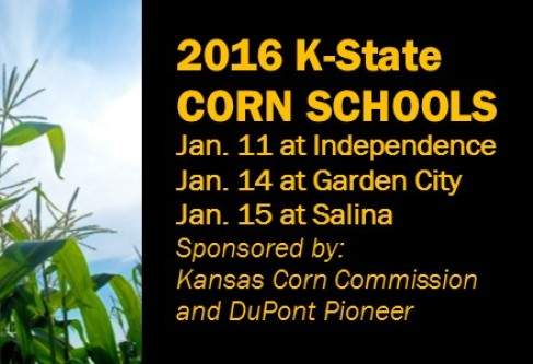 Corn Schools Jan. 11, 14 and 15 at Independence, Garden City & Salina
