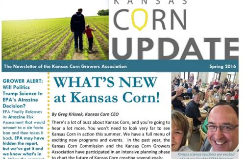 Sneak Peak: KS Corn Spring Newsletter