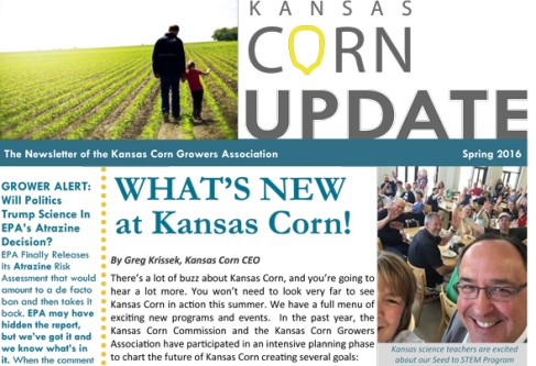 Sneak Peak: KS Corn Spring Newsletter