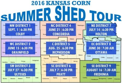 Kansas Corn's Summer Shed Tour to Make Stops Across State