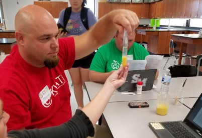 Seed to STEM Outreach to KVATE Educators
