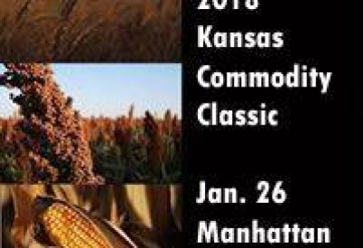 Kansas Commodity Classic Is Jan. 26; Kansas Corn Symposium is Jan. 25