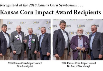 Lundquist, Flinchbaugh Are Kansas Corn Impact Award Recipients