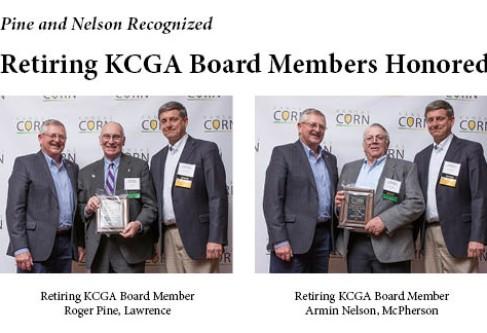 Kansas Corn Recognizes Retiring Board Members and Past Leaders