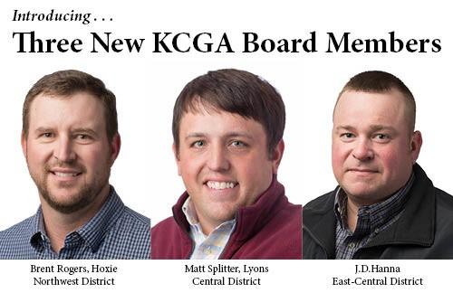 KCGA Elects Three New Board Members