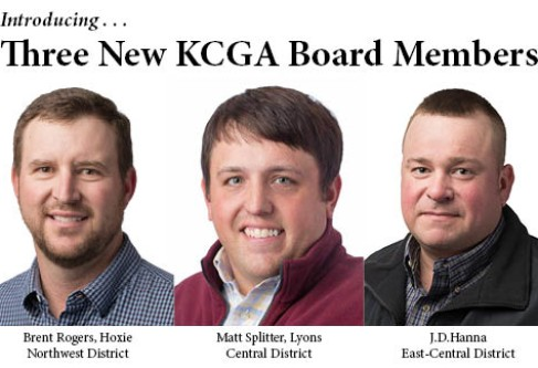 KCGA Elects Three New Board Members