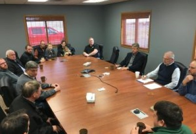 Farmers, Ethanol Owners Meet with Rep. Marshall Over RFS