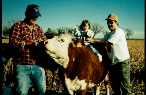 Because I Was Raised By A Farmer…