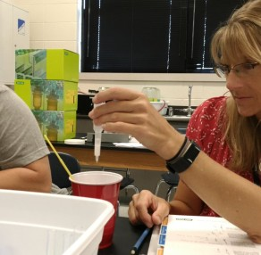 Teachers helping teachers at Kansas Corn's Seed to STEM Workshops