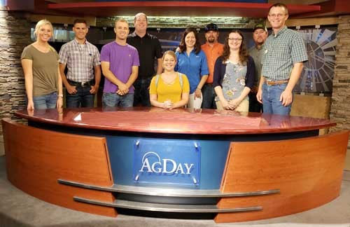 Kansas Corn Corps Class Experiences Agriculture in Three States