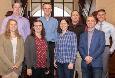 Nine Young Corn Growers Complete Kansas Corn's Corn Corps