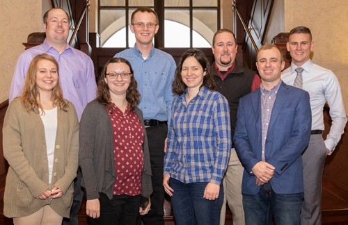 Nine Young Corn Growers Complete Kansas Corn's Corn Corps