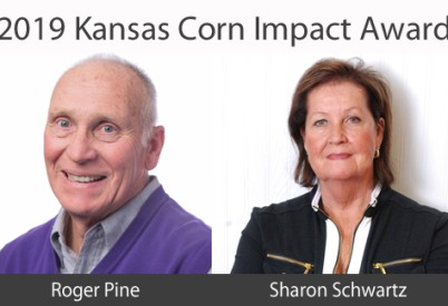 Kansas Leaders Pine, Schwartz Receive Kansas Corn Impact Award