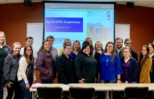 Student Teachers Gain Experience in Corn Industry Through EPIC Tour