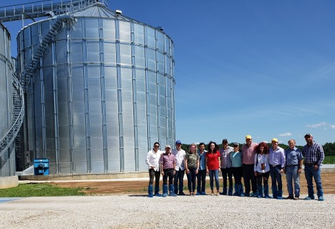 Young Mexican Feed Grains Professionals  Learn About Value Chain In Mission To Kansas