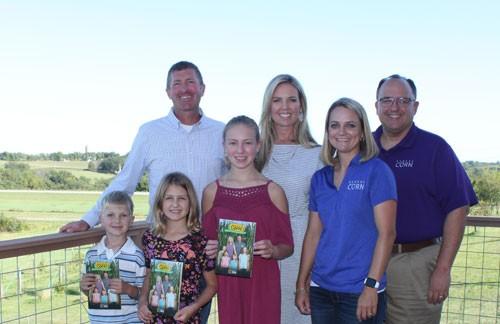 Kansas Corn Farmers Featured in STEM Education Book