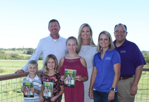 Kansas Corn Farmers Featured in STEM Education Book