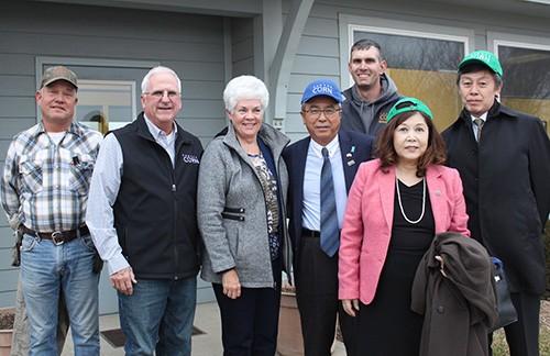 Japanese Ambassador Visits Kansas Farm Before Trade Agreement Is Finalized