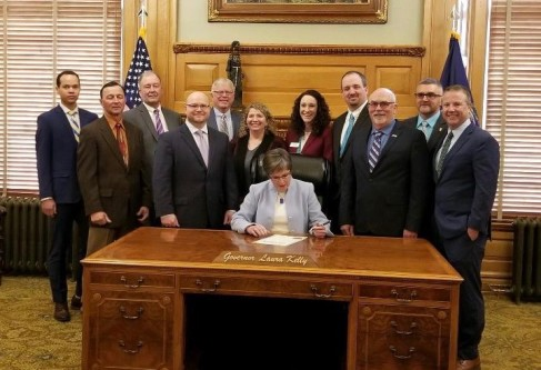 Governor Kelly Proclaims March as Kansas Biofuels Month