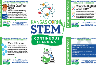 Kansas Corn STEM Brings Science Home with Continuous Learning Lessons