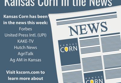 Kansas Corn In the News