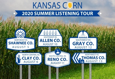 Kansas Corn Summer Listening Tour Dates Announced