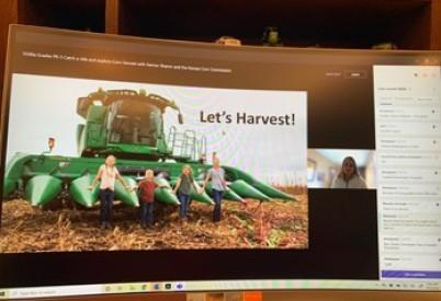 Kansas Corn STEM Takes Part in Wichita Public Schools Virtual Field Trip