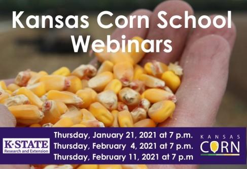 2021 Kansas Corn School Webinars Announced